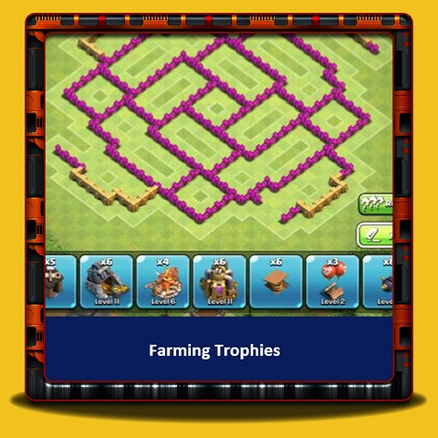 Clash of Clans - Farming Trophies